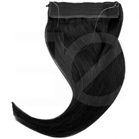 Extension cheveux swift naturelle Remy hair raide 50 cm