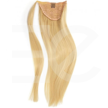 Ponytail Remy hair blondes 50 cm