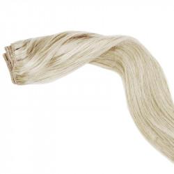 Tissage naturel blond polaire 50 cm